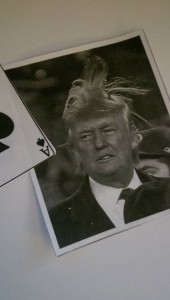 trump and card
